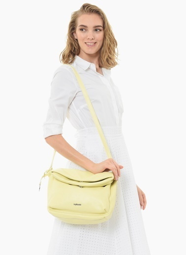 Divarese Messenger / Askılı Çanta Sarı